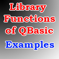 library functions of qbasic examples