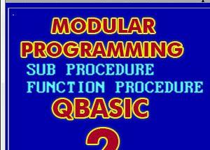 modular program 2